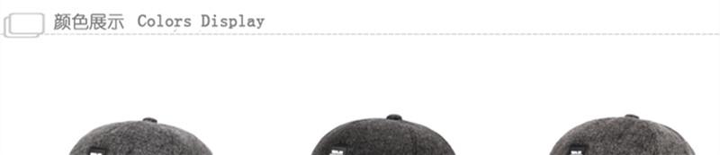 Hombres sombrero caliente del invierno lana gruesa de la moda gorra ... d881bdf8c3e