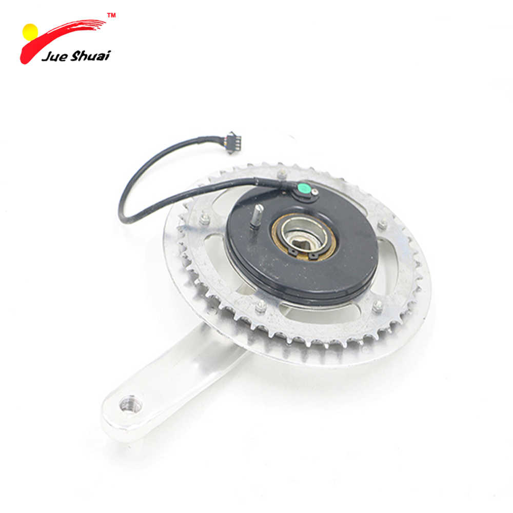JS New Design Bicycle Carbon Crankset Road Bike BMX Crankset Chain Care Crank Road MTB Crankset Pedaleira De Bicicleta BMX Parts