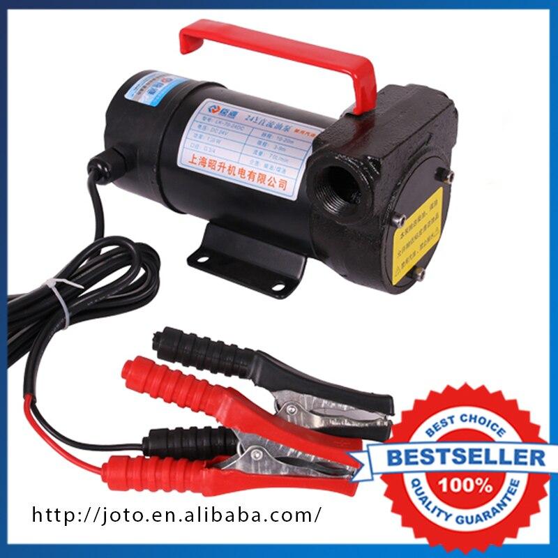 Pompe à huile électrique Diesel/carburant de voiture de cc de 12 V 120 W, pompe de transfert d'huile pour la voiture