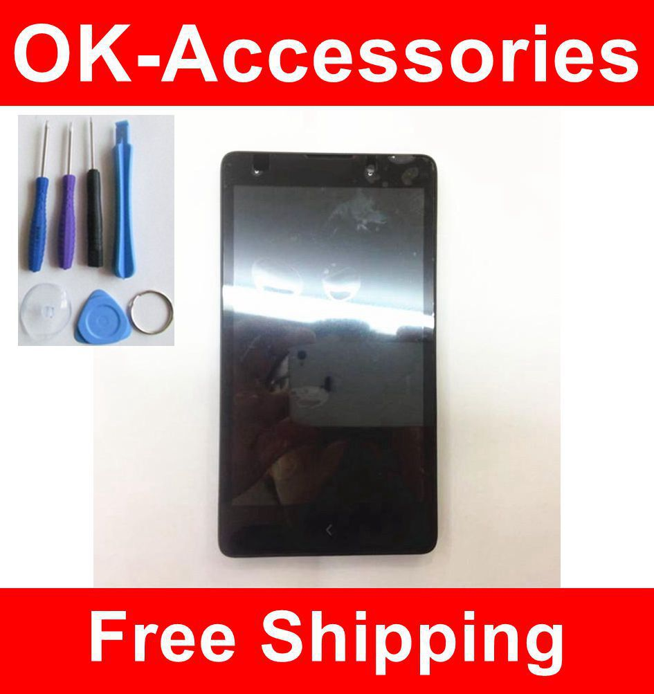 ФОТО For Nokia XL RM-1030 RM-1042 LCD Display+Touch Screen Digitizer+Frame+Free Tools Assembly 1PC /Lot