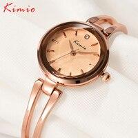KIMIO Women S Metal Bracelet Watches Fashion Brands Designer Creative Ladies Japan Quartz Wrist Watches Clock