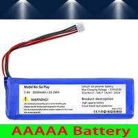 WONKEGONKE 3000mah battery for Harman Kardon Go+ Play go play batteries Batterie tracking number