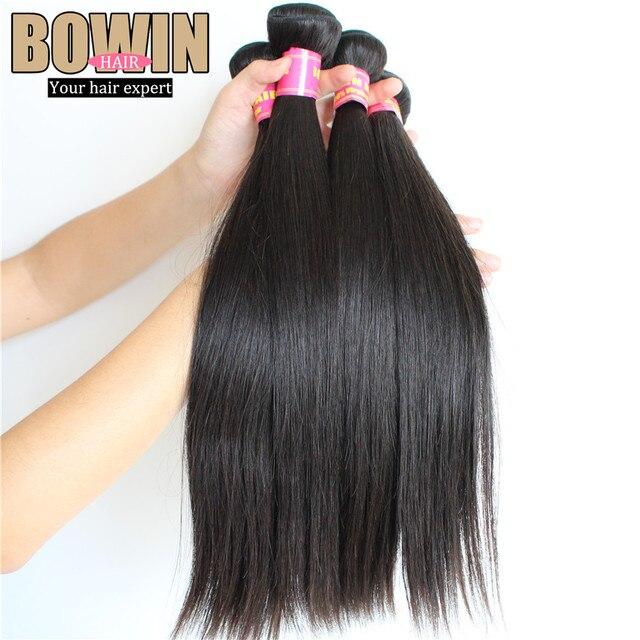 Best Quality Peruvian Virgin Hair Straight Grade 7A 3pcs lot Human hair weave 100g/pcs Color 1B