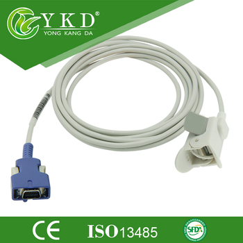 Nellcor DOC-10 for NPB 4000C, NPB 5500, NPB 4000 N-595 Oximax Pedaitric Finger Clip Spo2 Sensor