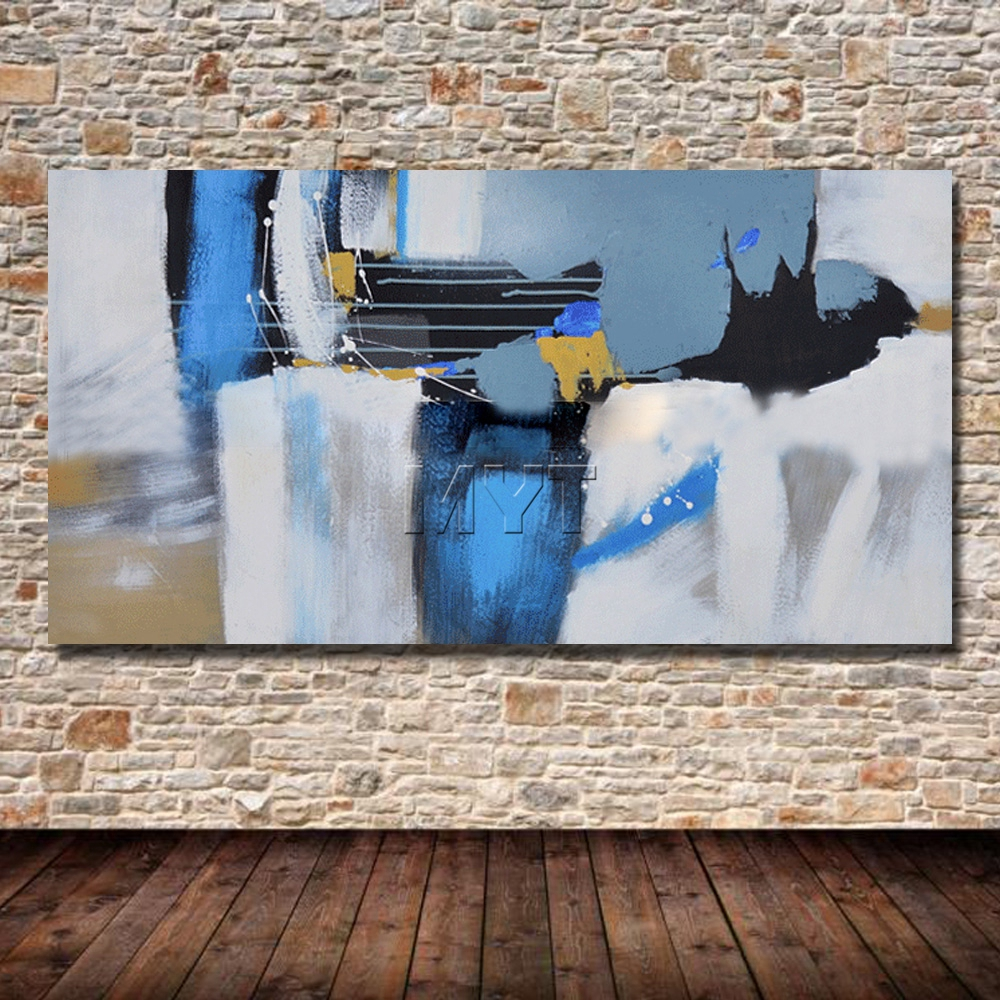 Paintings for Room Decor Abstract Oil Painting on Canvas Handpainted - Home Decor - Photo 2