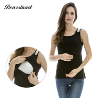 2015 New Fashion Comfortable Maternity Vests Cotton Nursing Tops Breast Feeding Clothes For Pregnant Women