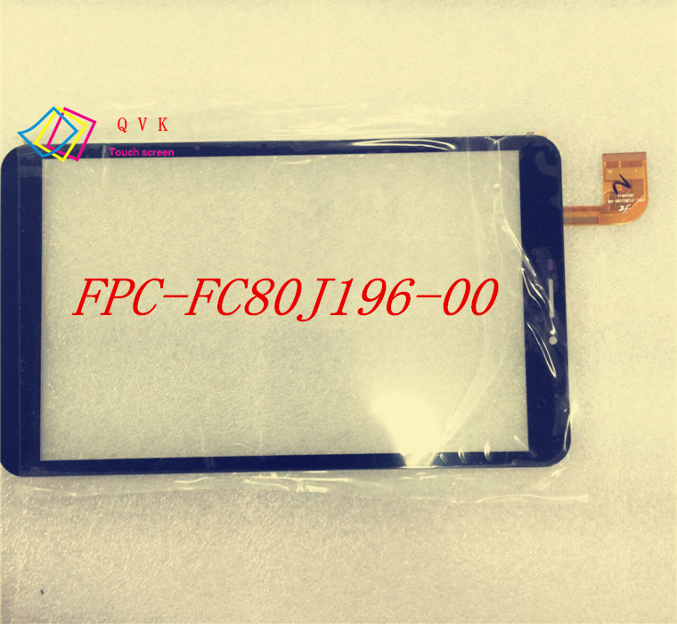 8inch FPC FC80J196 00 FC80J196 00 for tablet pc capacitive touch screen panel glass