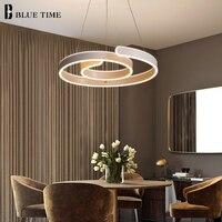 Modern Led Pendant Light For Living Room Dining Room Led Lustres Hanglamp White Led Pendant Lamp