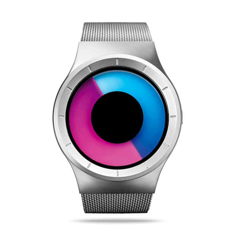 creative-watches-colorful-turntable-dial-design-black-silver-case-watchband-unique-cool-casual-wristwatches-for-men-women-gift