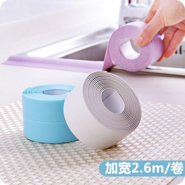 Vanzlife plain acryl waterdichte tape aanrecht badkamer joint ...