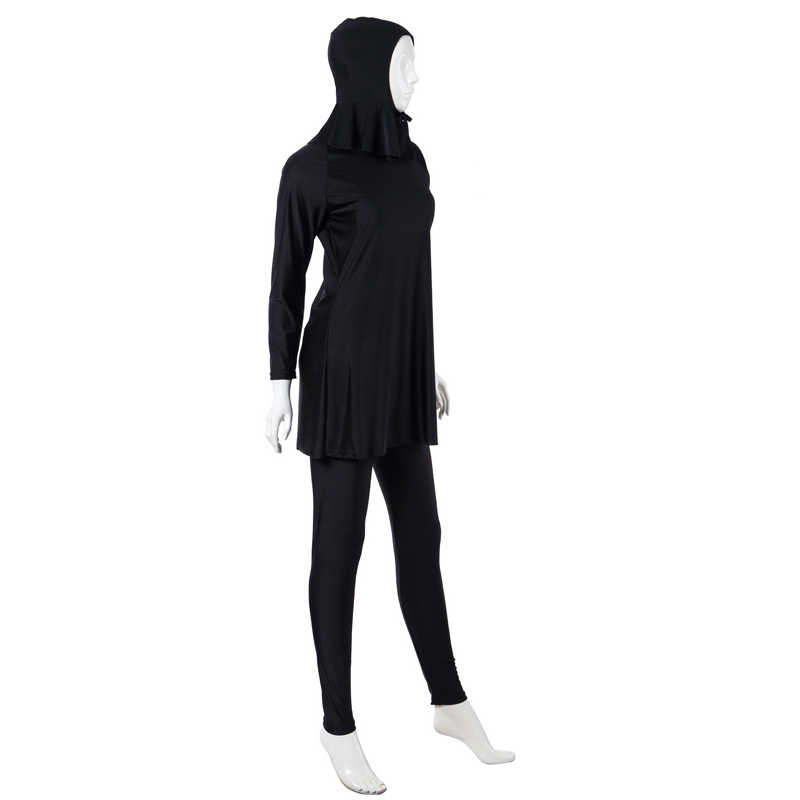 2018 Baru Moslim Consort Wanita Islam Baju Renang Muslim Seksi Mungkin Wanita Menyatu Plus Ukuran Pakaian Renang Pantai Zwempak Baju Badpak