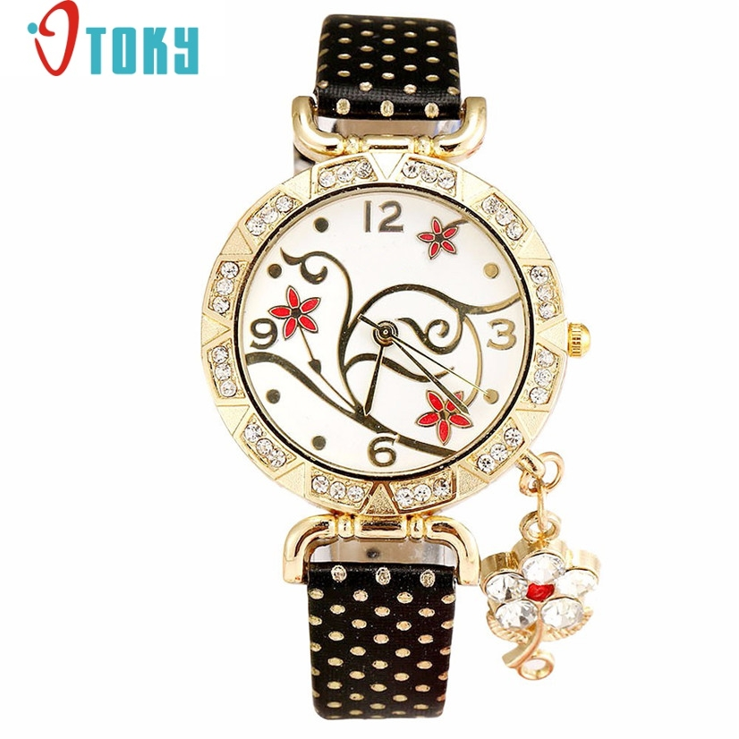 Hot Hothot Sales Watch Women Orchid Pattern Bracelet Crytal Quartz Watch Women watch,montre femme,relogio feminino jy28 hot hothot sales colorful boys girls students time electronic digital wrist sport watch free shipping at2 dropshipping li