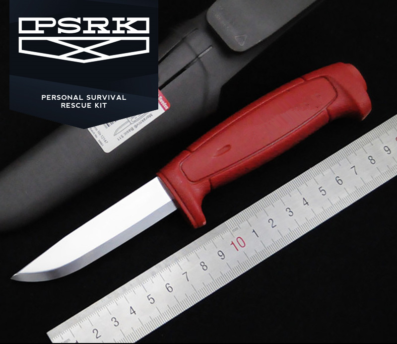 Very sharp 58 60HRC C100 high carbon steel blade high hardness EDC small straight fruits font
