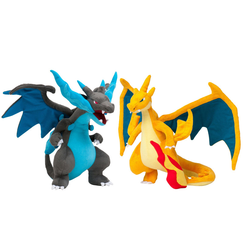 2pcs/lot 10 Mega Charizard Plush Toys Mega Evolution X Y Charizard Plush Soft Stuffed Animals Toys Doll for Children Kids Gifts 30cm cute korea pororo little penguin plush toys doll pororo with glasses plush soft stuffed animals toys for children kids gift