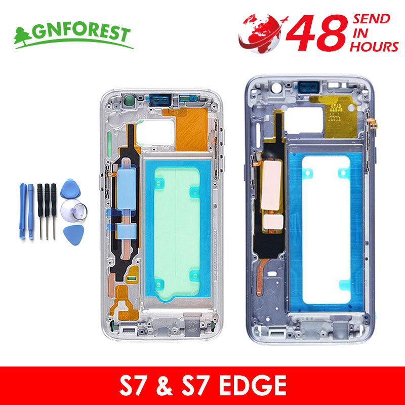 Chassis All-Small-Parts Samsung Middle-Plate-Frame-Housing G930F Galaxy for S7 G930f/S7/Edge-g935f