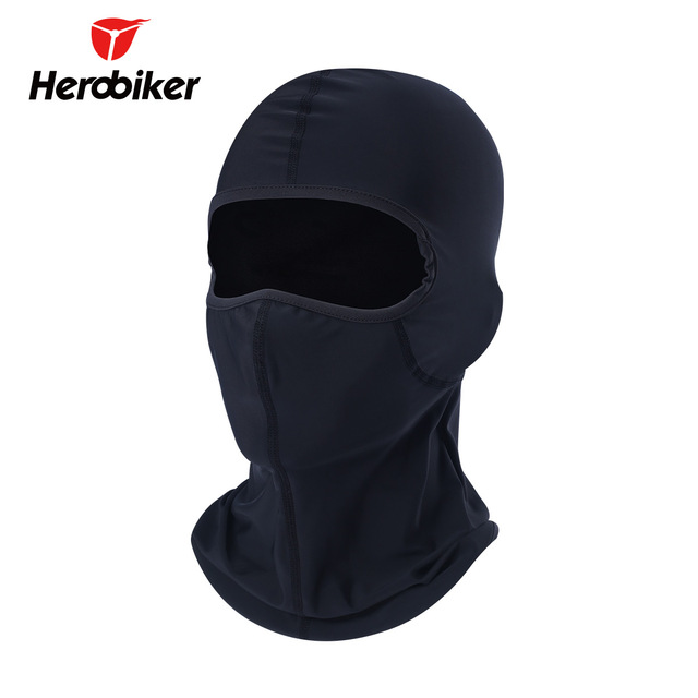 HEROBIKER Motorcycle Face Mask Unisex Black Ski Mask Balaclava Moto Men  Women Breathable Mask Motorcycle Paintball Fishing Caps 31da18951