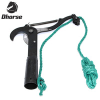 Dhorse Black Pulley High Branch Scissors Garden Farm Tools Pruning Tool Fruit Tool SX050