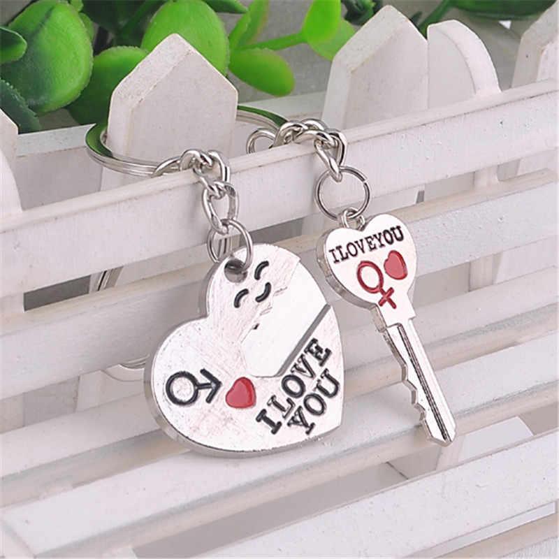 Mamojko новый брелок в форме сердца для пары Очаровательная сумочка кулон модный брелок модная ключница сумка Пряжка аксессуар