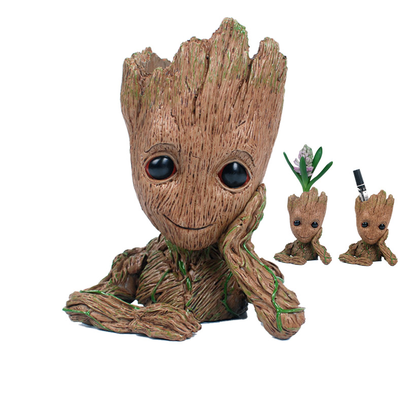 guardians of the galaxy fiures toys movie dancing tree man figuras dolls funny creative flower