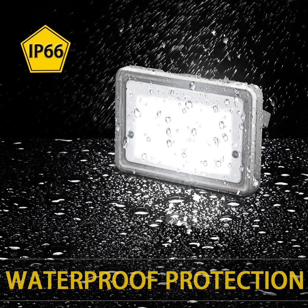 GOSUN Outdoor Lighting 10W LED Flood Lights 110V 220V Garden Stree Light IP66 Waterproof LED Floodlight Refletor Wall Spotlight
