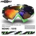 NENKI Motocross Off-Road Gafas de Equipo Hombres Mujeres Anteojos de La Motocicleta de Motocross Dirt Bike Downhill Ski Snowboard Gafas
