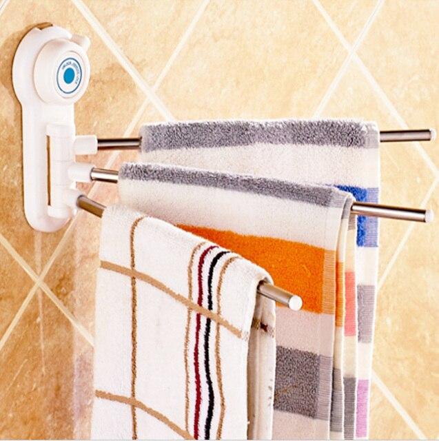 Y2 Bathroom Stainless Steel Towel Bar Rotating Towel Rack Storage Bathroom Kitchen Towel Polished Rack Holder Hardware Accessory