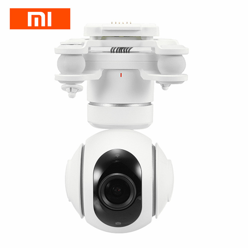 Original Xiaomi Mi Drone Midrone RC Quadcopter Spare Parts Gimbal With 1080P Camera For FPV RC Camera Drone Accessories high quality xiaomi mi drone xiaomi 4k version hd camera app rc fpv quadcopter camera drone spare parts main body accessories