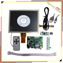 Cheaper 8 inch AT080TN52 LCD Driver Board with Touch Screen HDMI/VGA/2AV Driver board +touch panel kit for Raspberry Pi