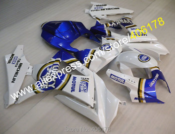 For 2007 2008 GSX-R1000 GSXR1000 07 08 K7 LUCKYSTRIKE motorcycle bodywork fairing Kits (Injection molding)