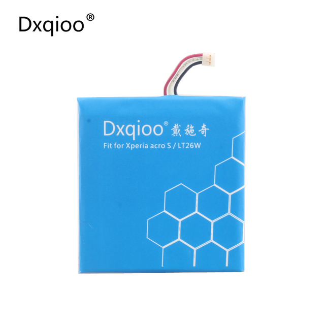 Dxqioo battery LIS1489ERPC fit for SONY Ericsson Xperia acro S LT26W batteries