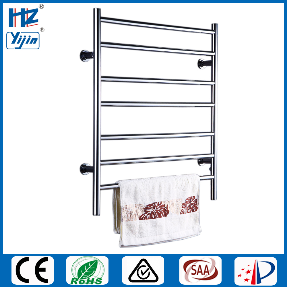 Free Shipping Stainless Steel Electric Wall Mounted Towel Warmer Bathroom Accessories Towel Dryer Racks Heated Towel