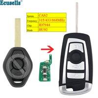 New Style Modified flip 3 button Remote key for BMW CAS2 3 5 6 series E93 E60 Z4 X5 315MHZ 433MHZ 868MHZ ID7944 chip HU92 blade|Car Key| |  -