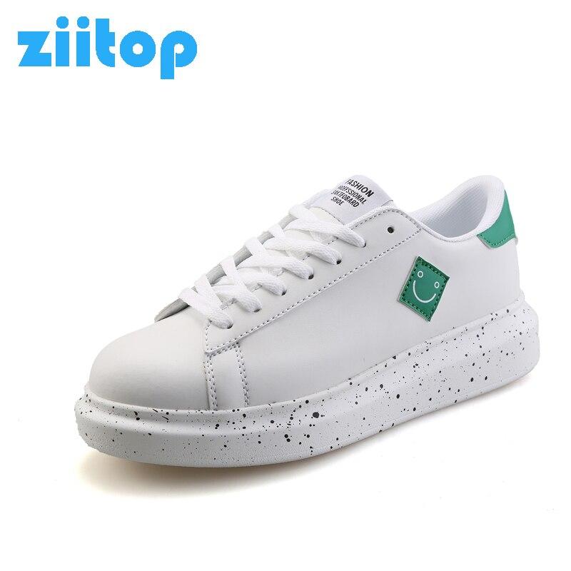 Prix pour Ziitop 2017 Nouveau Hommes Plat Planche À Roulettes Chaussures Printemps D'été flatform chaussures PU Chaussures de Marche Respirant Chaussures Hommes Sneakers Hombre