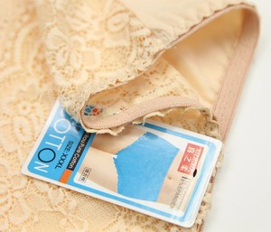 Image 3 - 4 יחידות/גדול גודל נשים סקסי תחרה תחתוני חלקה כותנה לנשימה תחתונים חלול תחתוני ילדה תחתונים סקסיים XXXL 4XL 5XL