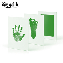 Souvenirs for babies hand casting kit inkless baby footprint Gifts newborn footprint Ink Pad  baby toys Hand Footprint Makers