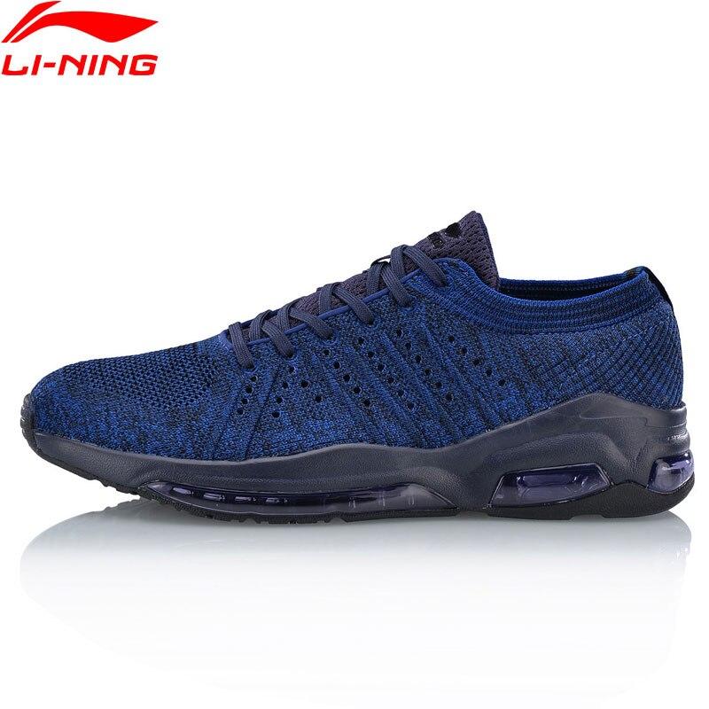 Li Ning Men BUBBLE FACE WG Walking Shoes Cushion Mono Yarn LiNing Classic Sports Shoes Breathable