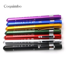 Doctors Clinical Pen Light LED Flashlight Mouth Ear Care Inspection Lamp 135*10mm Medical Pen Light Using 2 AAA Batteries