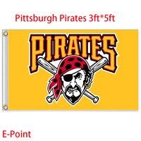 Pittsburgh Pirates USA Major League Baseball MLB Flag 3ft 5ft