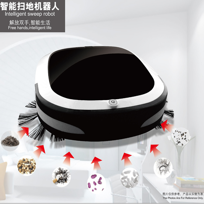 Sweeping robot Household Mute Lazy Fully automatic intelligent Ultra-thin Mini Mopping the floor One machine vacuum cleanerSweeping robot Household Mute Lazy Fully automatic intelligent Ultra-thin Mini Mopping the floor One machine vacuum cleaner