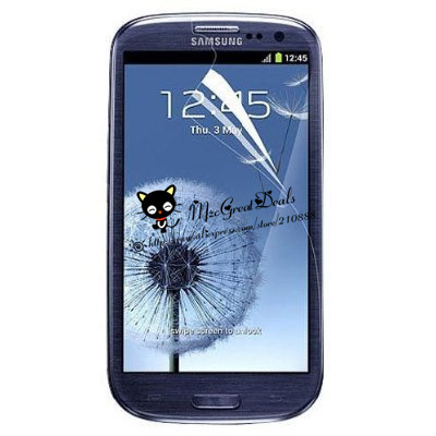 Screen Protector for Samsung Galaxy S3 S III AT&T, T-Mobile, Sprint, Verizon/i9300