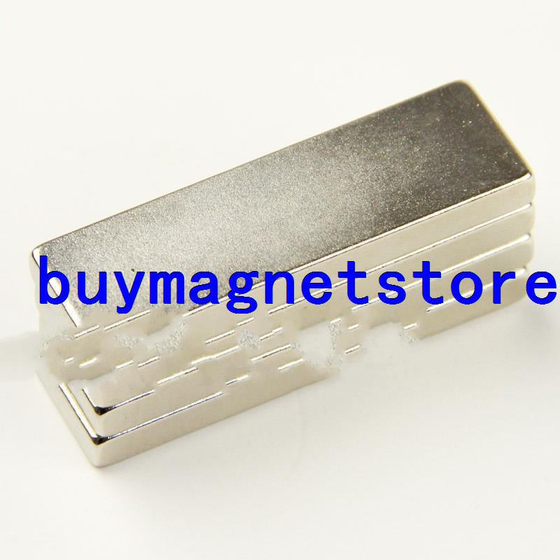 20PCS Strong Neodymium block magnets 50 mm x 15 mm x 5 mm N35 grade Rare Earth New <font><b>50*15*5</b></font> image