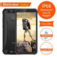 Blackview Original BV5500 5.5 IP68 Waterproof Rugged Mobile Phone 2GB+16GB Android 8.1 Dual SIM 4400mAh 18:9 Outdoor Smartphone