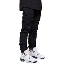 Мужские штаны для бега Модные осенние хип хоп шаровары стрейч бегунов Штаны для бега для мужчин Y5037
