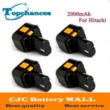 4X High Quality 9 6V 2000mAh Ni CD Rechargeable Power Tool Battery For Hitachi Drill EB9G