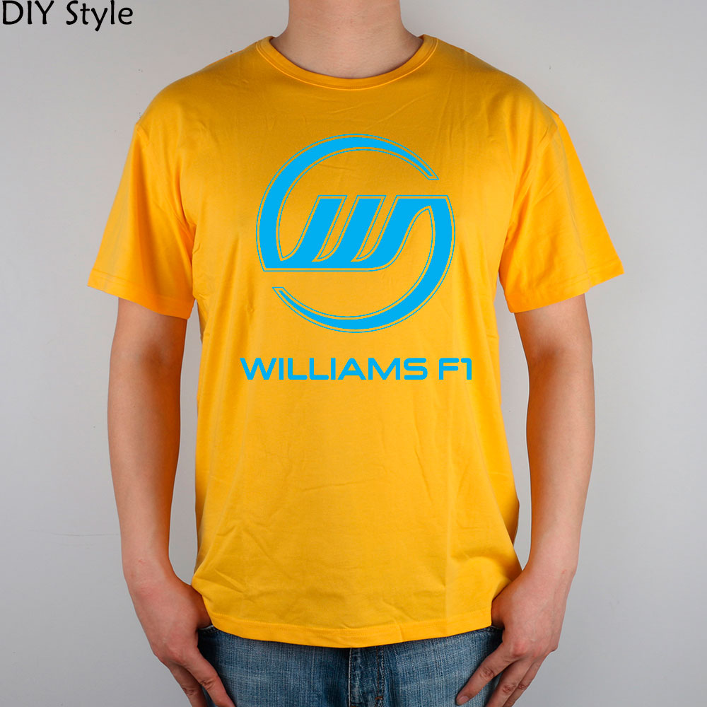 WILLIAMS TEAM <font><b>F1</b></font> baumwolle Lycra top <font><b>T</b></font>-<font><b>SHIRT</b></font> Mode Marke <font><b>t</b></font>-<font><b>shirt</b></font> männer neue hohe qualitä<font><b>t</b></font> image