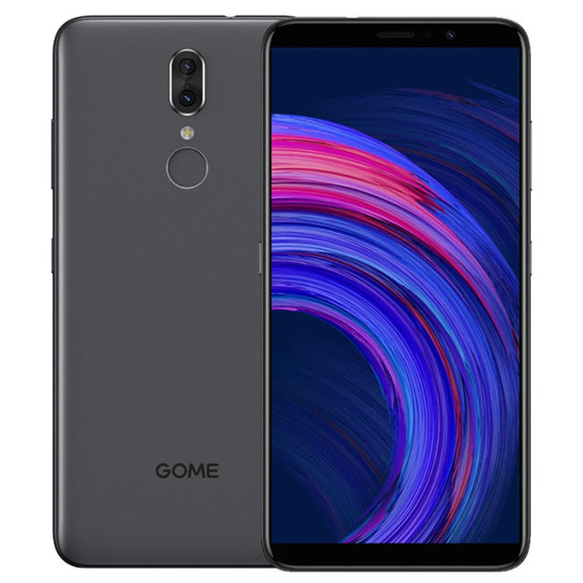 "GOME Fenmmy NOTE Face ID 5.99"" 4G Smartphone 4GB RAM 64GB ROM Helio P23 Android 8.1 3500mAh 13.0MP+5.0MP Fingerprint Cellphone"