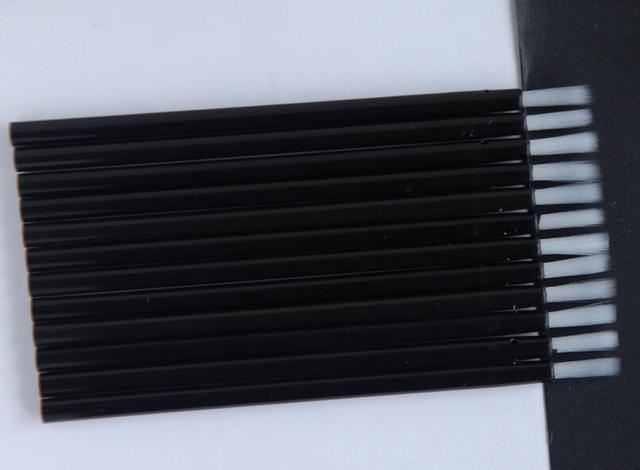 100Pcs Disposable nylon hair brush, disposable multi-purpose makeup brush, portable small lip brush 4