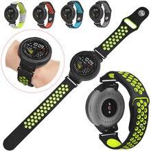 Прочные мягкие часы сменный Браслет для часов спортивный ремешок быстрая установка ремешок для часов Huami Amazfit Verge 3 силиконовые поры