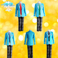 Anime Conjunto Estrellas Hokuto Hidaka Narukami Arashi Aoi Yuta Cosplay Set Completo Uniforme Escolar (chaqueta + Pantalones + Corbata)