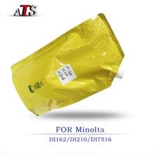 1 KG שחור אבקת טונר לkonica Minolta DI 162 210 211 183 163 7516 מכונת צילום תואם DI162 DI210 DI211 DI183 DI163 DI7516